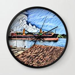 The Cienfuegos Bay de Cuba Wall Clock