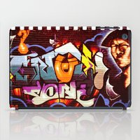 grafitti iPad Cases featuring Grafitti Strip Film by Squint Photography
