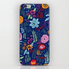 Harvest Flowers iPhone & iPod Skin