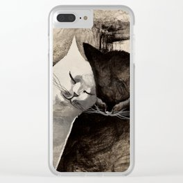 MORNING KISS by Raphaël Vavasseur Clear iPhone Case