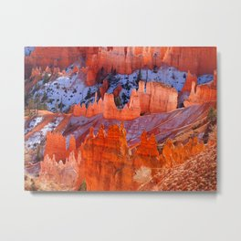 The wonders of Bryce Canyon Metal Print