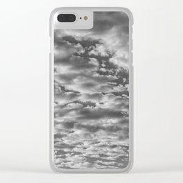 """SkyFall 2"" Sky and Cloud Art by Murray Bolesta! Clear iPhone Case"