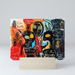 We're the children of freedom Mini Art Print