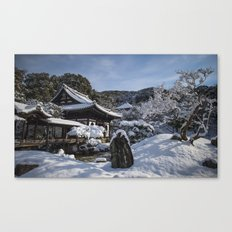 Kyoto Winter 2015 V (Kodaiji)  Canvas Print