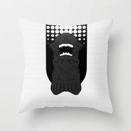Xenomorph Chestburster (PredAlien) Throw Pillow