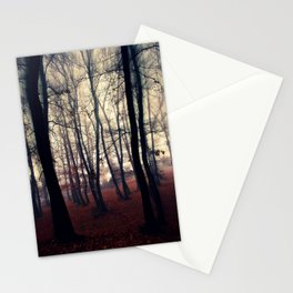 Horror Forest Stationery Cards