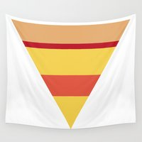 pizza Wall Tapestries featuring Pizza by parallelish