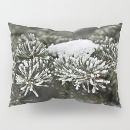 Snowy Evergreen Pillow Sham