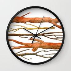 sticks no. 2 Wall Clock