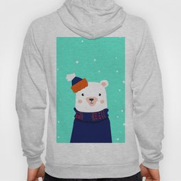 hare and bear Hoody