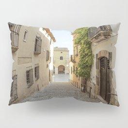Spanish Street in Altafulla Pillow Sham