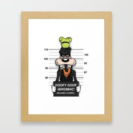Bad Guys / Goofy Goof Framed Art Print