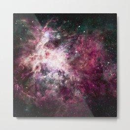 Cosmic Nebula. Metal Print
