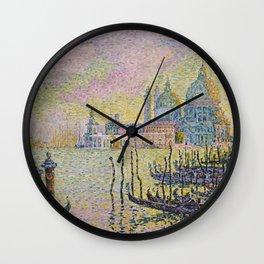 Grand Canal (Venice) - Paul Signac Wall Clock