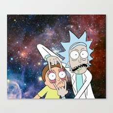 Rick and Morty - Universe Canvas Print