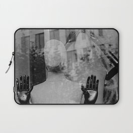 street photography in frankfort Laptop Sleeve
