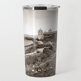 Mission Santa Barbara Travel Mug