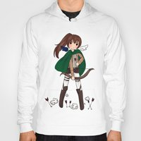snk Hoodies featuring Sasha Braus by Sir-Snellby