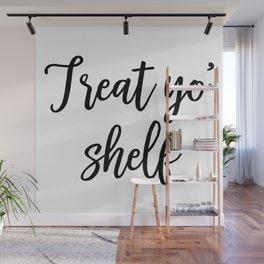 Treat Yo' Shelf Wall Mural