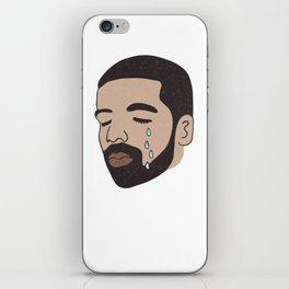 drake crying iPhone Skin