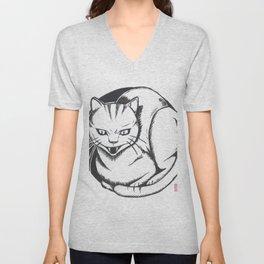 Cheshire Cat Unisex V-Neck