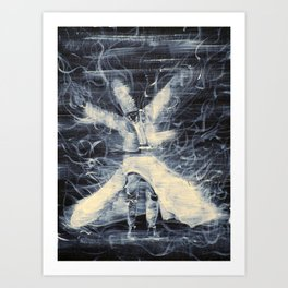 SUFI WHIRLING  - FEBRUARY 14,2013 Art Print