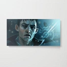 The Outsider Metal Print