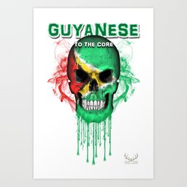 To The Core Collection: Guyana Art Print