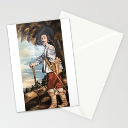 Musketeer Painting done by my Father  Stationery Cards