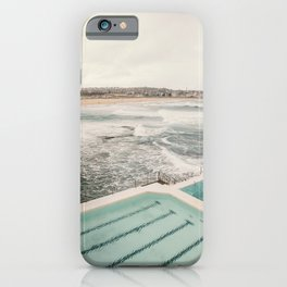 Gazing over Bondi Beach, Sydney  iPhone Case