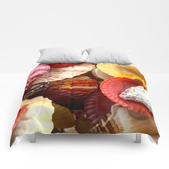 Shells at the Beach Comforters