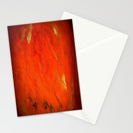Vintage Rustic Orange Stucco Texture - Corbin Henry Stationery Cards