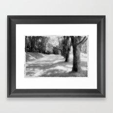 Tree Line Framed Art Print