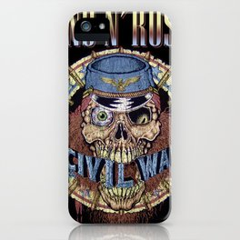 guns n roses album 2020 ansel8 iPhone Case