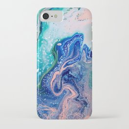 Reversed Blue Dragon Tall iPhone Case
