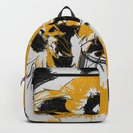 Sunflowers in vase Backpack