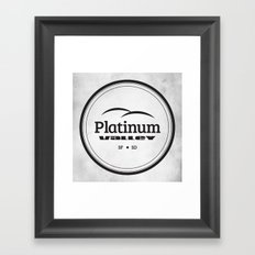 Platinum Valley Framed Art Print