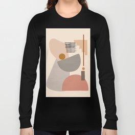 Modern Art Long Sleeve T-shirt