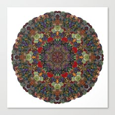 Hallucination Mandala 3 Canvas Print