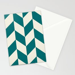 Parallelogram Pattern 7 Stationery Cards