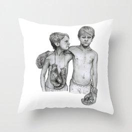 Bromley Boxing Boys Throw Pillow