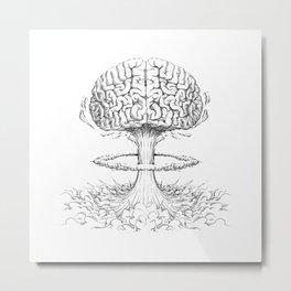 Mind Blowing Metal Print