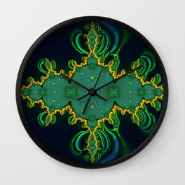 Emerald Art Wall Clock