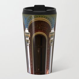 Longwood Home - Detail of Arches Travel Mug