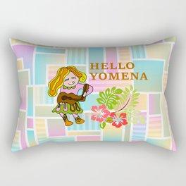 HELLO YOMENA Rectangular Pillow