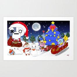 BT21 Christmas! Art Print