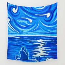 Stary Stary Love Wall Tapestry