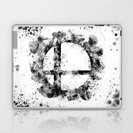 Super Smash Bros Ink Splatter Laptop & iPad Skin
