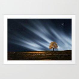 Amazing landscape 4 Art Print
