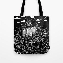 sound check Tote Bag
